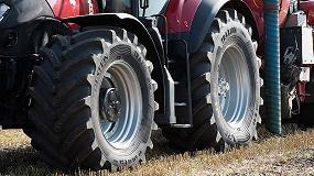 Foto de Nuevo neumático de Vredestein para tractores de muy alta potencia