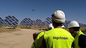 Foto de Ingeteam utiliza drones para mejorar el rendimiento de las plantas fotovoltaicas