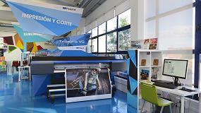 Foto de El V Congreso Fespa España visita las instalaciones de Roland DG Iberia en Madrid