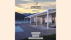 Foto de La pérgola KE Gennius Vega gana el Archiproducts Design Award 2017, en la categoría Exteriores