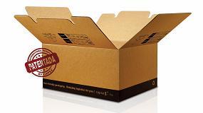 Foto de Unión Papelera incluye la caja Capsa 2in1Plus en su catálogo de embalaje