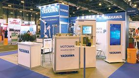 Foto de Yaskawa Ibérica exhibe un robot colaborativo HC10 y el software Motologix en Empack