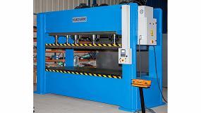 Foto de Nueva fabricación especial de un prensa hidráulica para trabajos de conformado y troquelado