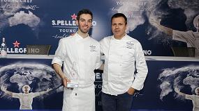 Foto de David Andrés, segundo chef de ABaC, gana la final ibérica del concurso S.Pellegrino Young Chef 2017