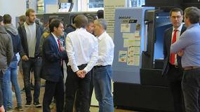 Foto de Delteco muestra sus máquinas más destacadas en su Open House