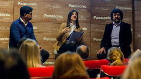 Foto de Panasonic muestra las bondades de su bomba de calor Aquarea de la mano de dos expertos en eficiencia