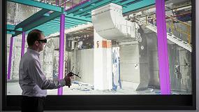 Foto de Dürr acerca a los talleres de pintura a situaciones reales de construcción mediante exploración láser