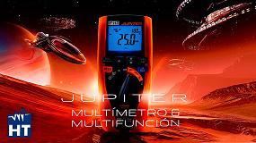 Foto de HT Instruments presenta Jupiter, un nuevo multímetro TRMS y multifunción para la verificación de la seguridad eléctrica