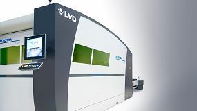 Foto de 8 kW de láser fibra para cortar metales ferrosos y no ferrosos a alta velociad