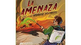 Picture of Sigfito lanza un cómic para valorar el papel de la industria en el reciclaje de envases agrarios