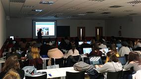 Foto de Los estudiantes de Arquitectura y Diseño de la Universidad Rey Juan Carlos de Madrid se forman en humedades estructurales