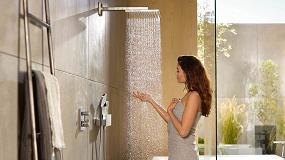Foto de Raindance E de hansgrohe: un diseño distintivo y una excepcional gestión del agua