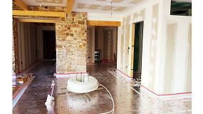 Foto de Tradesa aporta el suelo radiante para rehabilitar una vivienda histórica en La Bañeza