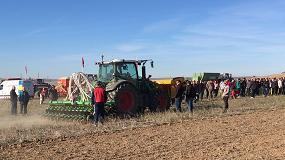 Foto de Jornada en Navarra sobre innovaciones en maquinaria para siembra directa y agricultura de conservación