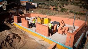 Foto de Ecorec, el nuevo bloque cerámico Rectificado de Cerámica Sampedro presente en la 9ª Conferencia PEP