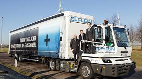 Foto de Transmisiones Allison para el camión eléctrico Terberg