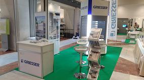 Foto de Griesser y sus sistemas eficientes de protección solar, en la 9ª Conferencia Española Passivhaus