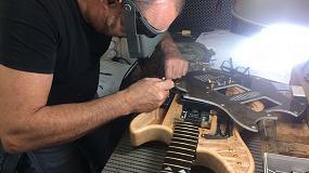 Foto de Eurecat presenta en MetalMadrid una guitarra de composite