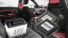 Foto de El nuevo circuito integrado convertidor reductor de ROHM aborda los desafíos de los sistemas de automoción de 48 V