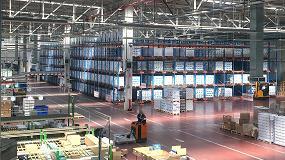 Foto de El nuevo almacén compacto de Lyreco en Alovera ahorra 1.000 metros cuadrados de espacio de almacenaje y proporciona capacidad para 4.720 palets