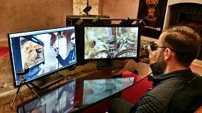 Foto de HP recrea un modelo 3D del Santo Grial