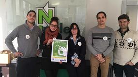 Foto de Nortpalet con la Semana Europea de la Prevención de Residuos