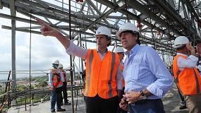 Foto de El ministro de Fomento visita las obras del Puente Pumarejo
