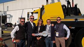 Foto de La empresa italiana de alquiler Musselli adquiere una grúa móvil Grove GMK5250L