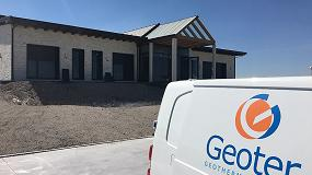 Foto de Geoter finaliza el acondicionamiento energético de la nueva sede de Huercasa