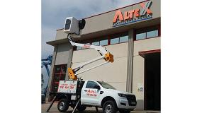 Foto de Altex incorpora dos modelos de plataformas aéreas a su flota