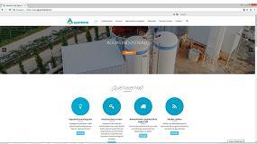 Foto de Aguambiente ha puesto en marcha su nueva web corporativa con un renovado diseño y una nueva plataforma tecnológica