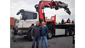 Foto de Transgrúas entrega la primera grúa Fassi F1150RA en España
