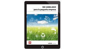 Foto de ISO 14001:2015 para la pequeña empresa, nuevo libro de Aenor