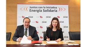 Foto de Ferroli y la Fundación EDP alcanzan un acuerdo para desarrollar 'Energía Solidaria'