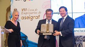 Foto de Aseigraf celebra en Sevilla su VII Cena de Empresarios