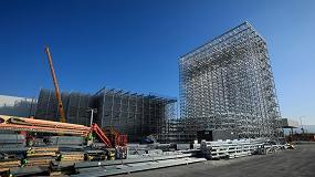 Foto de Seat construye el almacén automático más alto de España