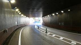 Foto de Schréder, soluciones eficientes para mayor ahorro en túneles y pasos subterráneos