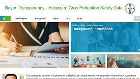 Foto de Nuevo portal de Bayer que facilita la evaluación de productos fitosanitarios