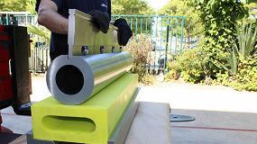 Foto de Nuevo útil de Metalmaq para lograr un radio grande en plegadora con amarre Wila