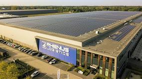 Foto de El Grupo Rhenus apuesta por la sostenibilidad en sus instalaciones de Eindhoven