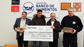 Foto de Grupo Miguel Vergara entrega al Banco de Alimentos 290 kg de carne gracias a los goles del Real Valladolid
