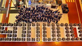 Foto de JCB celebra la fabricación de medio millón de motores en 13 años