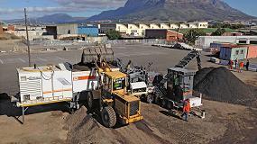 Foto de La Camps Bay Drive de Ciudad del Cabo ha sido rehabilitada con la tecnología de reciclaje en frío de Wirtgen