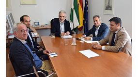 Foto de Asit se reúne con la dirección de la Agencia Andaluza de la Energía