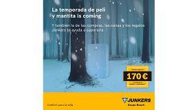 Foto de Junkers premia la instalación de sus calderas y controladores con cheques regalo de 170 euros