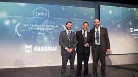Foto de Maquinser, premio HP Voxel al 'Mejor ejemplo de expansión al mercado de la fabricación'