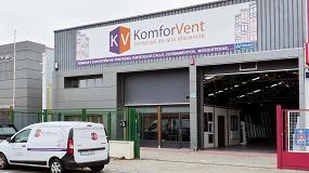 """Foto de Komforvent: """"En tan solo dos años hemos conseguido que nuestras ventas duplicaran las expectativas iniciales"""""""