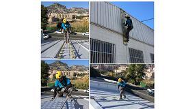 Foto de 'Altitud Treballs Verticals', nuevo distribuidor autorizado de las escaleras flexibles de Iverna