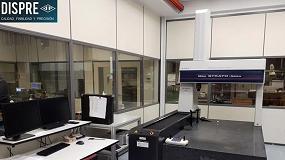 Foto de Dispre adquiere a Metrología Sariki una máquina de medición tridimensional Strato Apex 9166