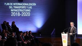 Foto de El ministro de Fomento presenta el Plan de Internacionalización del Transporte y las Infraestructuras 2018-2020